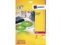 AVERY CD Label FullFace Glossy For Colour Laser, ?117mm 50 labels/pack 25 sheet/pack
