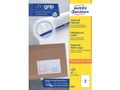 AVERY White Labels 2TV 210 x 148mm 2 Labels/Sheets **100-pack**