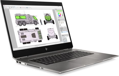 HP ZBook 15 Studio X360 G5 i5-8400H 15.6inch FHD IPS touch 8GB DDR4 256GB SSD NVIDIA Quadro P1000 4GB W10P 3YW (SE) (4QH12EA#AK8)