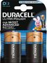 DURACELL Ultra Power D Batteries,  2pk