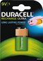DURACELL Recharge Ultra 9V 170mAh Batteries,  1pk