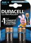 DURACELL Ultra Power AAA Batteries,  4pk