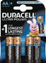 DURACELL Ultra Power AA Batteries,  4pk