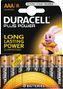 DURACELL Plus Power AAA Alkaline Batteries,  8pk