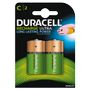 DURACELL Recharge Ultra C 3000mAh Batteries,  2pk