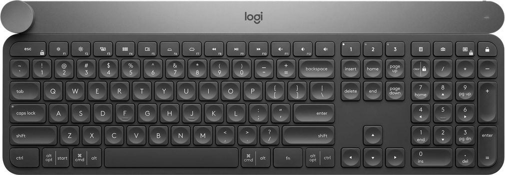Logitech Craft Advanced Trådløs Tastatur Tastatur