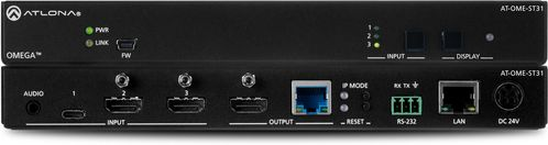 Atlona Omega Switching Transmitter with 2x HDMI and 1x USB-COmega Switching Transmitter with 2x HDMI and 1x USB-C (AT-OME-ST31)