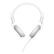 THE ART OF UTILITY DEFUNC BASIC MUSIC On-Ear Headset White