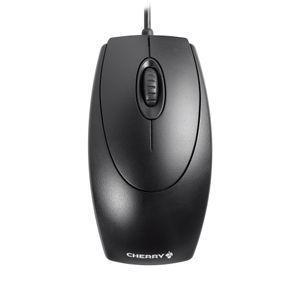 CHERRY OPTICAL MOUSE W/ SCROLL WHEEL PS2/USB BUSINESS STD DESIGN BLACK (M5450)