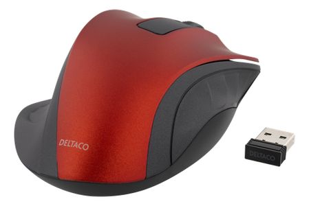 DELTACO Like MS-710 but Red (MS-709)