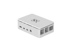 OKdo Raspberry Pi 4 standard case, 3 piece design, white