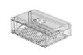 OKdo Raspberry Pi 4 slide case, 2 piece design, clear