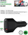 CoreParts USB-C Car Charger/ Adapter