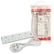 LINDY Power Strip 4-way Type G (UK) outlet. White Factory Sealed