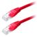 PANDUIT Copper Patch Cord, Cat 5e, Red U Category 5e, UTP patch cord with Pan-Plu