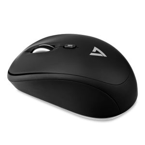 VIDEO SEVEN WIRELESS OPTICAL 4 BUTTON MOUSE 2.4GHZ/ MOBILE/ 1600DPI/ W/ BATTERY WRLS (MW100-1E)