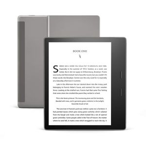 "AMAZON Kindle Oasis 7"" 8GB 2019 Lesebrett,  IP68, 8GB, 7"" HD Touch, WiFi, 300 ppi, sort (B07L5GDTYY)"