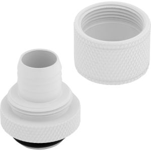CORSAIR Hydro X Fitting Softline XF Compression 10/13mm, Fittings 4-Pack, Vit (CX-9051006-WW)