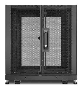APC NetShelter SX 12U Server Rack Enclosure 600mm x 1070mm w/ Sides Black (AR3103)