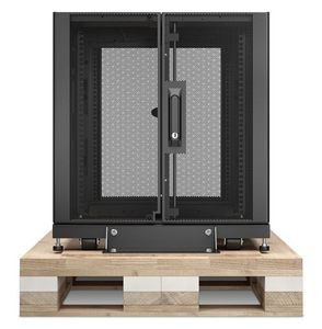APC NetShelter SX 12U Server Rack Enclosure 600mm x 1070mm w/ Sides Black Shock Packaging (AR3103SP)