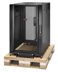 APC NetShelter SX 18U Server Rack Enclosure 600mm x 900mm w/ Sides Black Shock Packaging (AR3006SP)