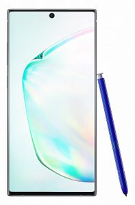 SAMSUNG Galaxy Note 10+ 6.8inch Wide Quad HD+ AMOLED 3040x1440 12GB RAM 256GB Rear 6MP+12MP+12MP 4300 mAh Aura Glow Android 9 Pie (SM-N975FZSDNEE)