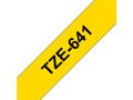 BROTHER Tape BROTHER TZe-641 18mmx8m sort/gul