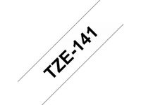 BROTHER 18MM Black On Clear Tape (TZE-141)