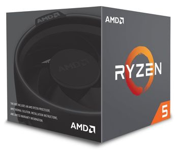 AMD Ryzen 5 2600 3.9GHz 6Core AM4 - 3.9 GHz (YD2600BBM6IAF)