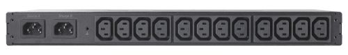 APC Rack ATS, 230V, 10A, C14 in, (12) C13 out (AP4421)