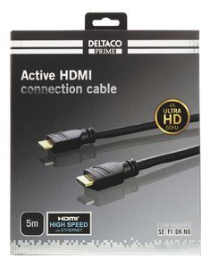 DELTACO HDMI Extension cable 4Kx2K 60Hz 50m (HDMI-3050)