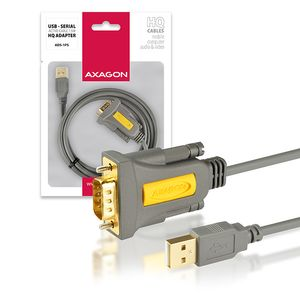 AXAGON USB2.0-Serial RS-232 DB9 HQ Adapter Factory Sealed (ADS-1PS)