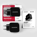 AXAGON Wall Charger Smart 5V 2.4A + 1x QC3.0. 30W Factory Sealed (ACU-QC5)
