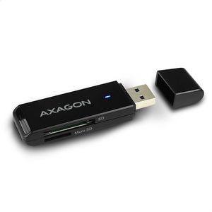 AXAGON External USB 3.0 Type A SLIM 2-slot SD/ Factory Sealed (CRE-S2)