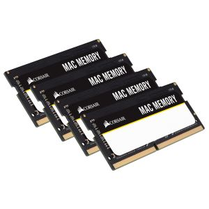 CORSAIR memory SO D4 2666 32GB C18 Corsair MAC K4 4x8GB for MAC-PC (CMSA32GX4M4A2666C18)