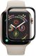 PANZER Apple Watch 4 40mm, Curved Silicate Glass, Black