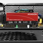 AXAGON PCI-E 3.0 16x - M.2 SSD NVMe. Upto 80mm SSD Factory Sealed (PCEM2-S)