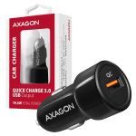 AXAGON Car Charger 1x QC3.0. 18W. Black Factory Sealed (PWC-QC)