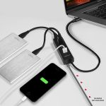 AXAGON 4x USB3.0 Charging Hub. MicroUSB Charging Factory Sealed (HUE-S2C)