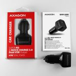 AXAGON Car Charger 1x QC3.0 + 1x PD USB-C. 45W Factory Sealed (PWC-PDQ)
