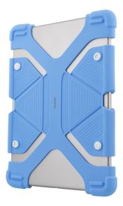 """DELTACO Case in silicone for 9-11,6"""" tablets, tripods, blue (TPF-1306)"""