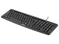 DELTACO KEYBOARD BLACK USB NORDIC-LAYOUT