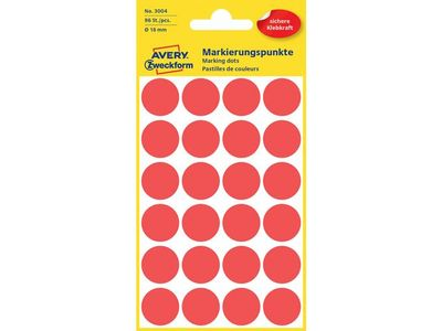 AVERY Labels Red (3004)