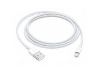 APPLE Lightning til USB Kabel 1 m For lading og synkronisering av iPhone/ iPod/ iPad til Mac/ Windows PC (MQUE2ZM/A)