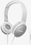 PANASONIC Headband, Microphone,  White