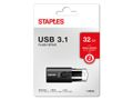 STAPLES USB-Minne STAPLES USB 3.1 32GB