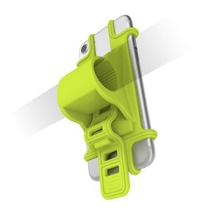 CELLY UNIVERSAL SILICONE BIKE HOLDER GREEN (EASYBIKEGN)