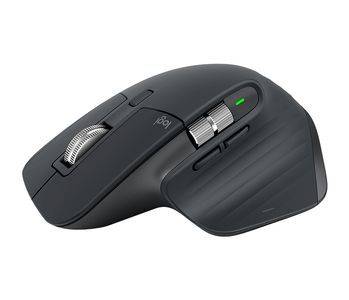 LOGITECH MX Master 3 Advanced Wireless Mouse - GRAPHITE - 2.4GHZ/BT - EMEA (910-005694)