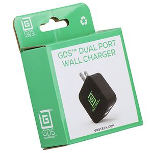 RAM MOUNT GDS 2 PORT USB WALL CHARGER (RAM-GDS-CHARGE-USB2W)