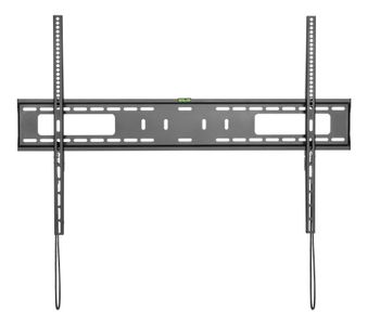 """DELTACO 60""""-100"""" Low profile fixed TV wall mount, 75kg, black (ARM-476)"""